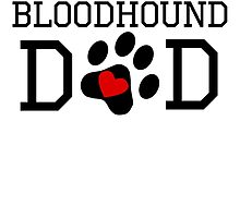 Bloodhound Dad by kwg2200