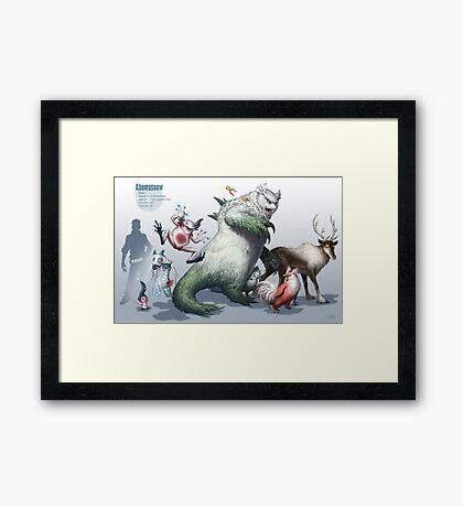 Abomasnow Framed Print