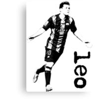 Leo Messi Canvas Print