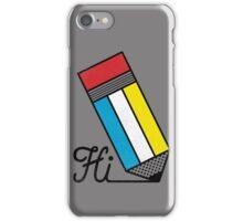 Mondrian: Greeting #2 iPhone Case/Skin