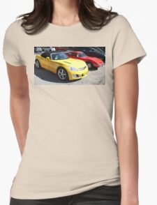 Opel GT Classic Sports Cars Womens Fitted T-Shirt
