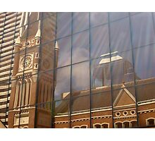 Reflections of Past History Photographic Print