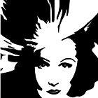 Marlene Dietrich by Sassy Bombassi