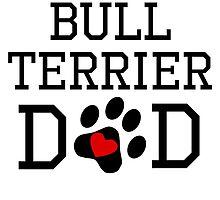 Bull Terrier Dad by kwg2200