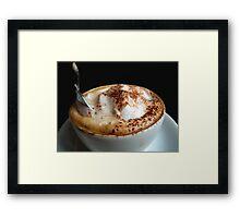 Starbucks it is not...!!!  Framed Print