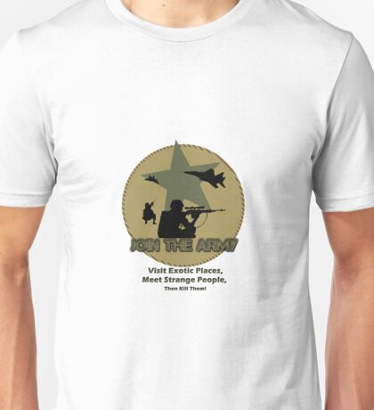 Funny Army Unisex T-Shirt