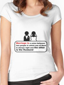 Funny Wedding Women's Fitted Scoop T-Shirt