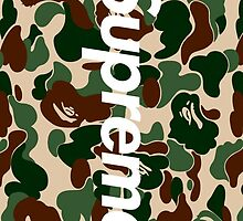 Supreme x Bape  by supremekingz
