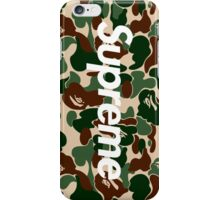 Supreme x Bape  iPhone Case/Skin