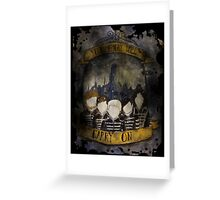 The Black Parade - My Chemical Romance Greeting Card