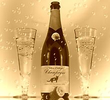 Vintage Champagne by Angela Harburn