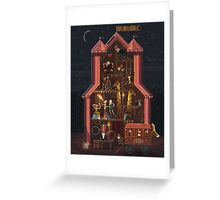 Midnight Carnival Greeting Card
