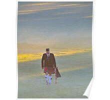 Brigadoon Walking In The Glen - Brigadoon Highland Gathering , Bundanoon, NSW Australia Poster