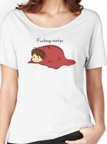 Fucking winter. Women's Relaxed Fit T-Shirt