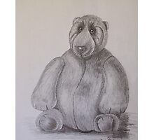 Fat Ted Photographic Print