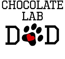 Chocolate Lab Dad by kwg2200