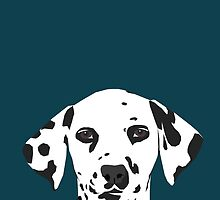 Ryan - Dalmatian Dog Print for Dog Lover, Pet Owner by PetFriendly