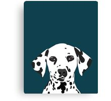 Ryan - Dalmatian Dog Print for Dog Lover, Pet Owner Canvas Print