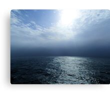 Falling Off the Edge of the Ocean Canvas Print