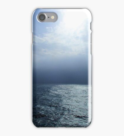 Falling Off the Edge of the Ocean iPhone Case/Skin