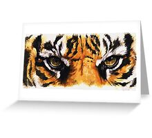 Eye-Catching Sumatran Tiger Greeting Card