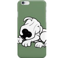 Did I Hear The Word Walk? English Bull Terrier  iPhone Case/Skin