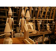 Geppetto's workshop Photographic Print