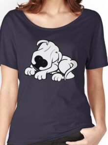 Did I Hear The Word Walk? English Bull Terrier  Women's Relaxed Fit T-Shirt