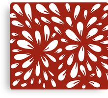 blossom (red) Canvas Print