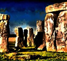 Stonehenge, Wiltshire (2) - all products bar duvet by Dennis Melling