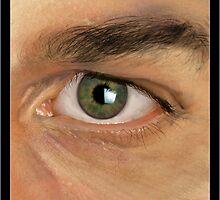Eye Study- Digital Painting by Wendy Warren