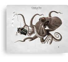 Count to Ten Canvas Print