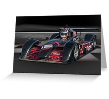 Prototype P1 Race Car 'Across the Line' Greeting Card