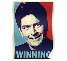 Winning, by Charlie Sheen Poster