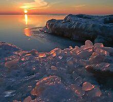 Red Ice Rocks by Markos Berndt