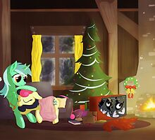 Lyrabon Christmas by Stinkehund