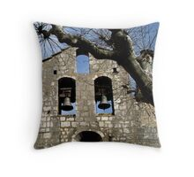 Interesting bell-wall Throw Pillow