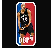 Big Ballers Podcast Logo  Photographic Print