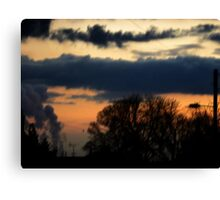 The lonely Sky Canvas Print