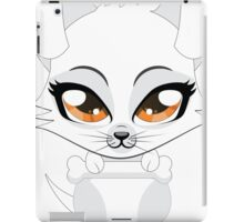 Cute little white puppy iPad Case/Skin