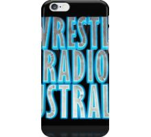 Wrestle Radio Australia iPhone Case/Skin