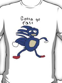 SANIC HEGEHOG GOTTA GO FAST T-Shirt