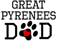 Great Pyrenees Dad by kwg2200