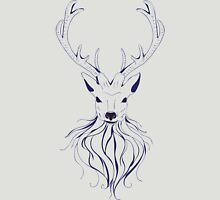 Head of a deer in hand drawn style 2 Unisex T-Shirt