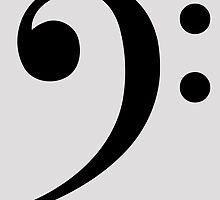 Bass Clef by cpotter