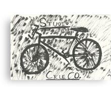 Studio City Cycle Co. Canvas Print