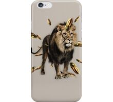 Can't tame a lion iPhone Case/Skin