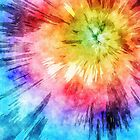Tie Dye Watercolor by Phil Perkins