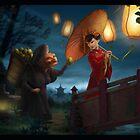 Chinese Night by lemomekeke