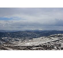 View from the top of Ben Chonzie Photographic Print